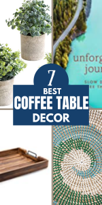 The best coffee table decor for your home. Get great picks based on your own decorating style plus a few general tips.