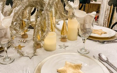 Easy New Year's Eve Table Decorations